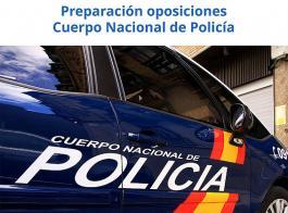 Preparación oposiciones  Cuerpo Nacional de Policía año 2018