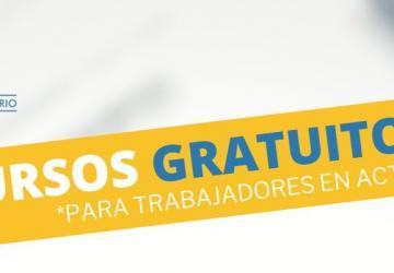Cursos Gratuitos para personas Autónomas, en ERTE o empleadas