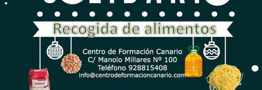 Diciembre solidario de Centro de Formación Canario